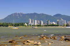 Beautiful scenery of Vancouver Stock Photos