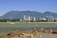 Beautiful scenery of Vancouver Stock Photos
