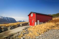 Beautiful scenery of west coastline. Beautiful scenery of west Norway coastline royalty free stock photography