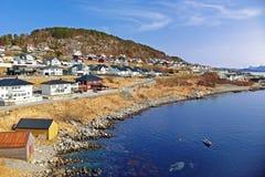 Beautiful scenery of west Norway stock photos