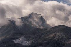 Beautiful scenery of Western Tatra mountains Stock Images