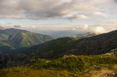 Beautiful scenery of Western Tatra mountains Stock Photo