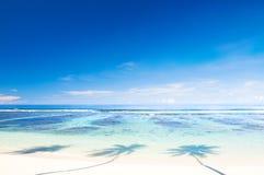 Beautiful Scenic Beach Stock Photo