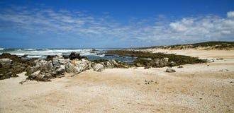 A beautiful scenic beach Stock Photo