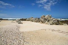 A beautiful scenic beach Stock Image