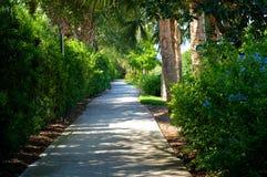 Beautiful scenic bike path Royalty Free Stock Photo