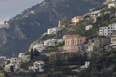 Beautiful scenic of capri island important traveling destination Royalty Free Stock Photo