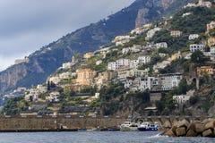 Beautiful scenic of capri island important traveling destination Stock Image