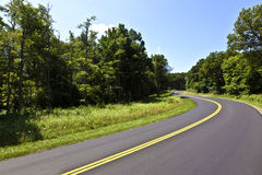 Beautiful scenic country road Royalty Free Stock Images