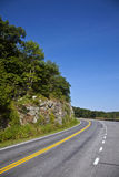 Beautiful scenic country road Stock Images