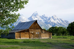 Beautiful scenic in the Grand Tetons. Stock Photography