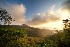 Beautiful Scenic In Mountains Royalty Free Stock Images