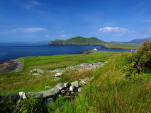 Beautiful scenic irish landscape Stock Image