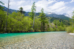 Beautiful scenic at Kamikochi Stock Photography