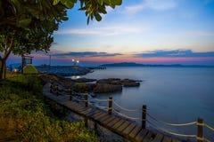 Beautiful scenic of khao leamya and samed island national park r Stock Image