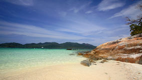 Beautiful scenic at Lok Loy island Royalty Free Stock Photography