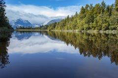 Beautiful scenic of matheson lake important traveling destinatio Royalty Free Stock Image