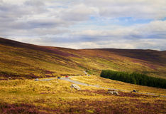 Beautiful scenic mountain landscape.  Wicklow Mountains National Park, County Wicklow, Ireland Stock Photos