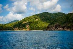 A beautiful scenic of Phangan island Stock Photography