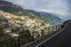 Beautiful scenic of potasino mediterranian coastal south italy i Stock Photography