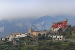 Beautiful scenic in ravello italy Royalty Free Stock Image