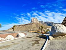 Beautiful scenic road in New Mexico Royalty Free Stock Photo