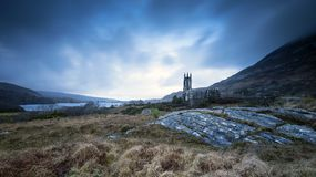 The beautiful scenic scapes of Ireland and Northern Island Castles Night and Sunsets. The beautiful scenic scapes of Ireland - from castles, scenic backgrounds stock image