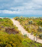 Beautiful scenic view of the dunes royalty free stock photo