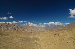 Beautiful scenic view near Namika La,altitude 12198 Ft. in Ladak Stock Photos