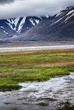 Beautiful scenic view of Spitsbergen (Svalbard island), Norway Stock Image