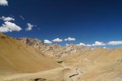Beautiful scenic view in Zanskar, Ladakh,India Royalty Free Stock Photos