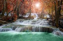Beautiful scenic of waterfall Stock Photos