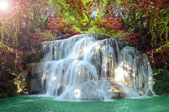 Beautiful scenic of waterfall Royalty Free Stock Photo