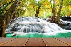 Beautiful scenic of waterfall Stock Photo