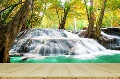 Beautiful scenic of waterfall Stock Image