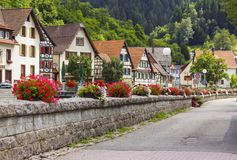 Schiltach in Black Forest, Germany Stock Photography