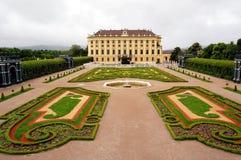 The beautiful Schonbrunn Palace Stock Photos