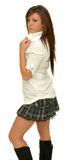 Beautiful school girl Royalty Free Stock Images