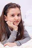 Beautiful schoolgirl Royalty Free Stock Photos