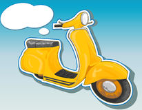Beautiful  scooter. Stock Photography