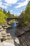 Beautiful Scotland uk Invermoriston bridge Stock Images
