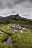 The beautiful Scottish Castle of Eilean Donan Royalty Free Stock Photo