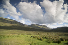 Beautiful scottish highlands scenery Royalty Free Stock Photos