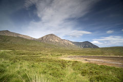 Beautiful scottish highlands scenery Stock Photography