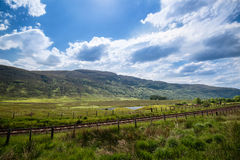 Beautiful Scottish Landscape Royalty Free Stock Images