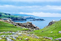 Beautiful Scottish Landscape Royalty Free Stock Photos