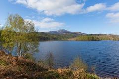 Beautiful Scottish Loch Garry Scotland UK lake Stock Images