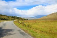 Beautiful scottish panorama Stock Photo