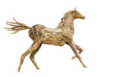 Beautiful sculpture of horse Stock Images