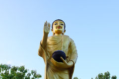 The beautiful Sculpture, monuments, temples in Thailand Stock Photography